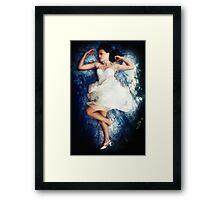 An Angel Sleeps Framed Print