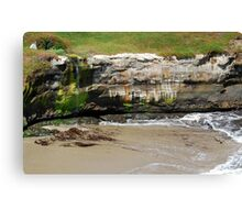 Coastal Recession Canvas Print