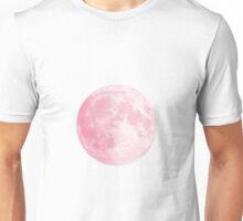 Pink Full Moon Unisex T-Shirt