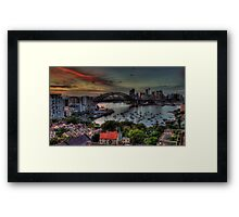 What was Old Is New Again - Moods Of A city - The HDR Experience Framed Print