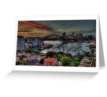 What was Old Is New Again - Moods Of A city - The HDR Experience Greeting Card