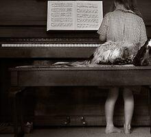 Piano Puppy by Elizarose