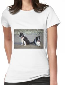 Indy and Rob  Womens Fitted T-Shirt