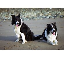 Indy and Rob  Photographic Print