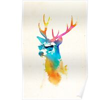 Sunny Stag Poster