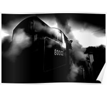 Old 80002 Steam Loco Poster