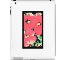 Retro screen floral  iPad Case/Skin