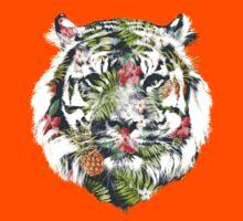 Tropical Tiger Kids Tee
