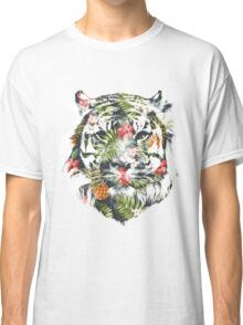 Tropical Tiger Classic T-Shirt