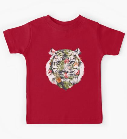 Tropical Tiger Kids Clothes