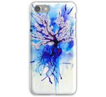 Blue Blossoming  iPhone Case/Skin