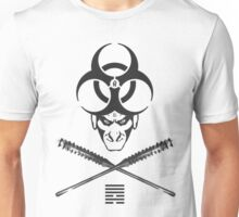 Shadeprint Battle Vest (Wite Trims) Unisex T-Shirt