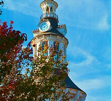 Red Bluff Clock Tower by Tracy Jones