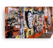 Urban Art Gallery Canvas Print