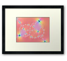 Glow Worms Framed Print