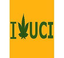 I Love UCI Photographic Print
