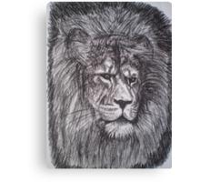 Aslan - Narnia Canvas Print