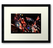 The Aussie Patriot Framed Print