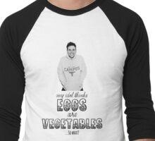 Danny's Eggy Vegetables Men's Baseball ¾ T-Shirt
