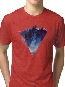 near to the edge Tri-blend T-Shirt