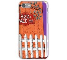 822 Pace Avenue iPhone Case/Skin
