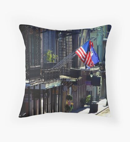 Rue Toulouse Throw Pillow