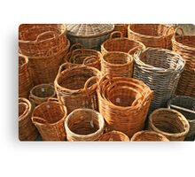 Wicker World Canvas Print