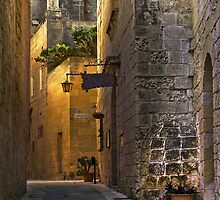 Silent City, Mdina Malta by Edwin  Catania