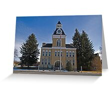 Beaverhead County (Montana) Court House Greeting Card