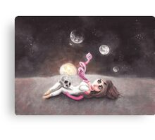 Lost far away from home Canvas Print