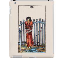 Eight of Swords Tarot Card iPad Case/Skin