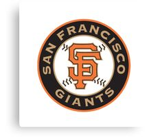 San Francisco Giants logo 1 Canvas Print
