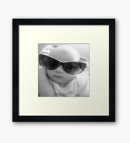Never to young for adult style Framed Print