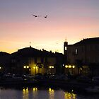 Sunrise in Martigues, France by angelatrencsak