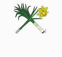 Leek and Daffodil Crossed Unisex T-Shirt