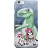 Kimmy and Rex iPhone Case/Skin