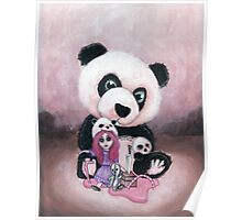 Candie and Panda Poster