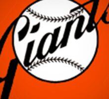 San Francisco Giants logo 3 Sticker