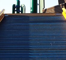 The Steps to the Playground by Vellichor