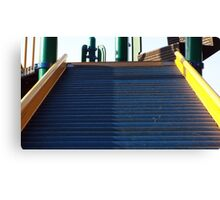 The Steps to the Playground Canvas Print