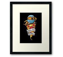 Ninja Squirtle Framed Print