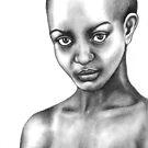 African beauty by Margaret Sanderson