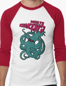 What's Kraken? Men's Baseball ¾ T-Shirt