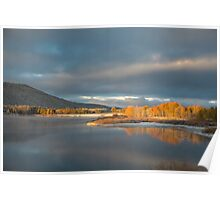 Sunrise in Grand Teton Poster