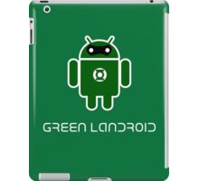 Droidarmy: Green Lantern (text) iPad Case/Skin
