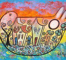 Peace Surrounds Us by Juli Cady Ryan