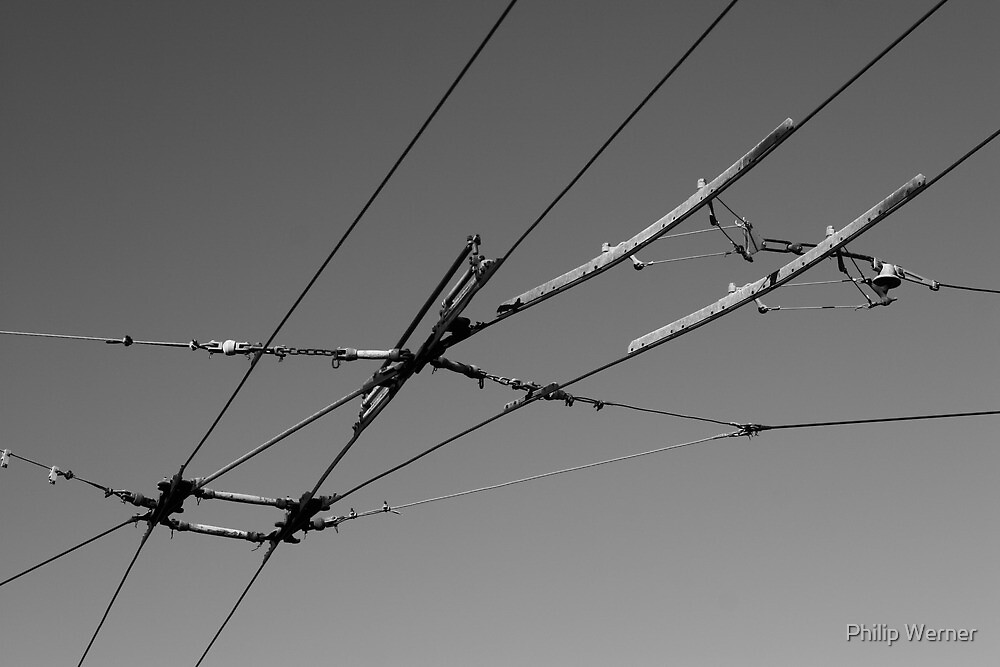 Tram Cables by Philip Werner