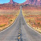 Famous Desert Highway by Michael Palmer