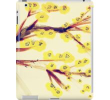Yellow Blossoms iPad Case/Skin