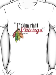 Corey Crawford strikes again T-Shirt